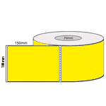 100 x 150mm YELLOW DT 76MM CORES