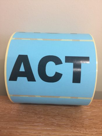 ACT – Fluro State Labels