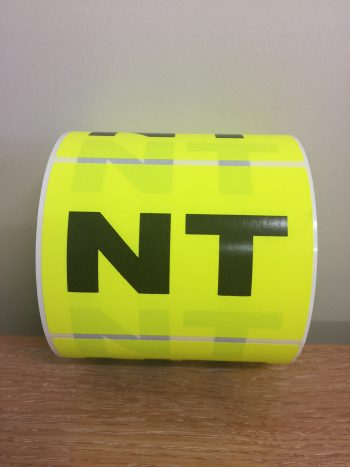 NT – Fluro State Labels